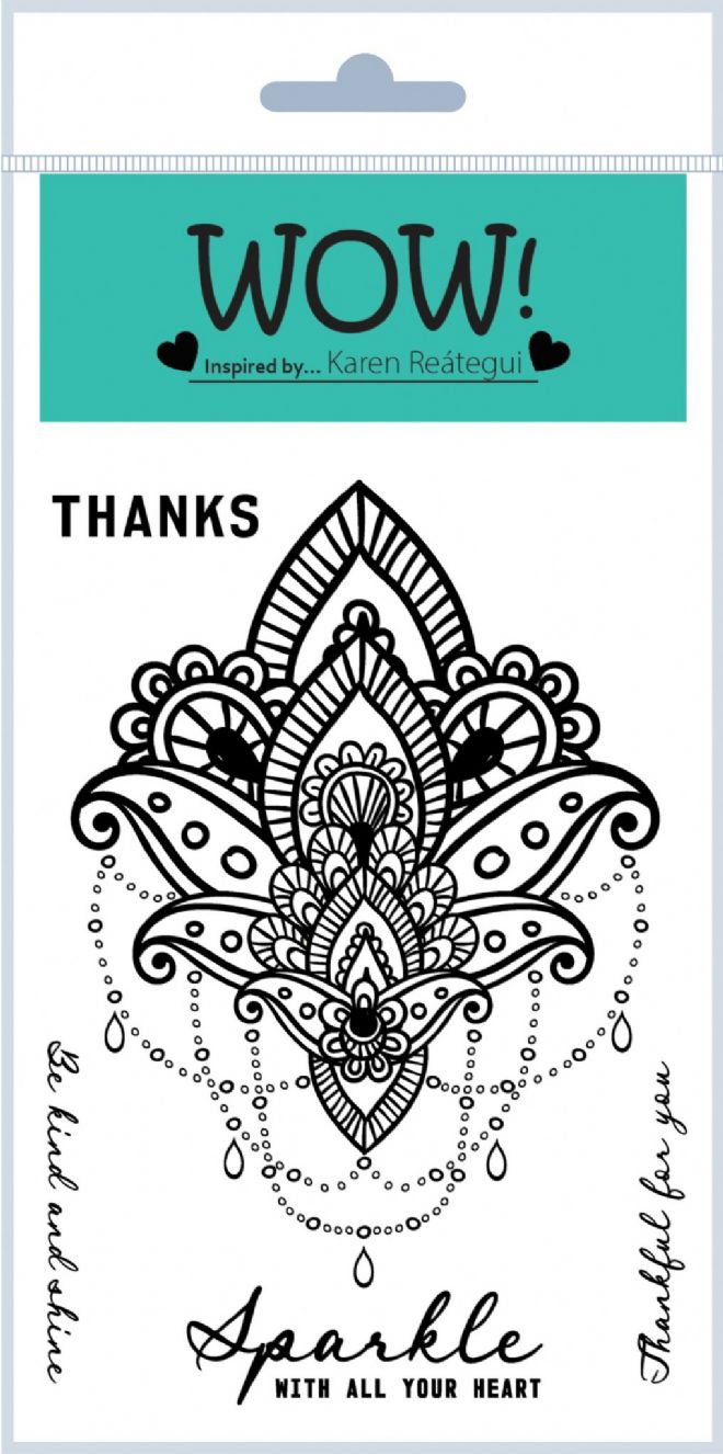 Mandala (by Karen Reátegui) - Clear Stamp Set